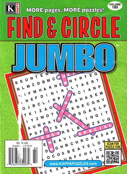 Find & Circle Jumbo Cover - 6/1/2016