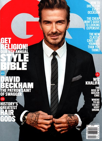 Gentlemen's Quarterly - GQ Cover - 4/1/2016