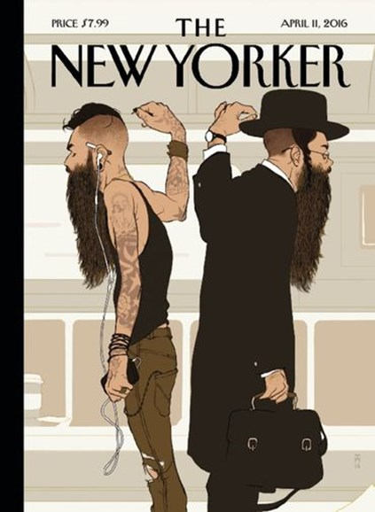 The New Yorker Cover - 4/11/2016