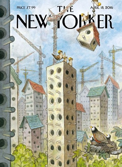 The New Yorker Cover - 4/18/2016