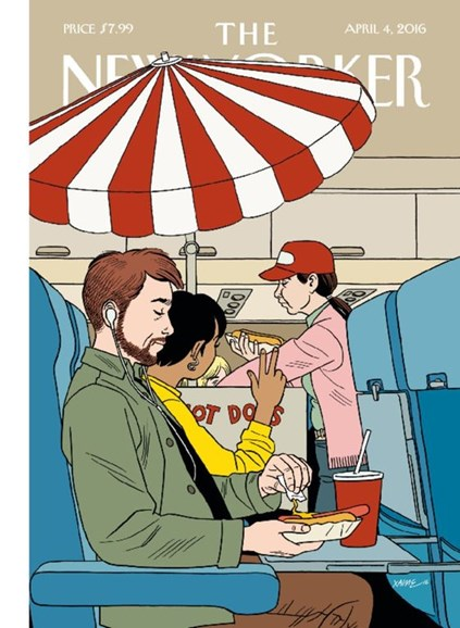 The New Yorker Cover - 4/4/2016