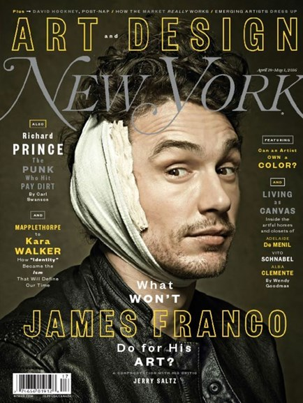 New York Magazine Cover - 4/18/2016
