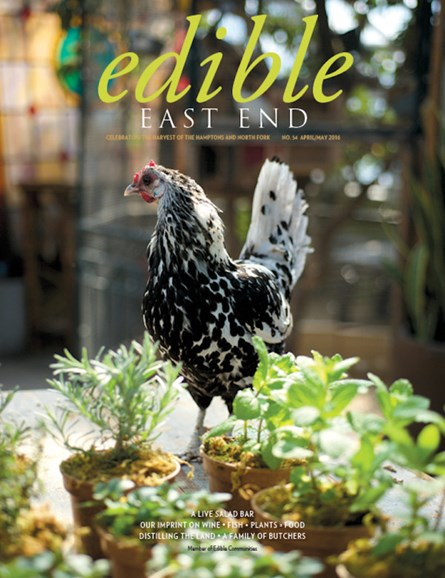 Edible East End Cover - 4/1/2016