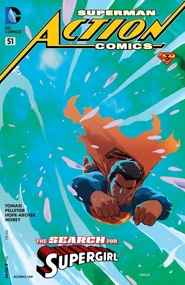 Action Comics Cover - 6/1/2016
