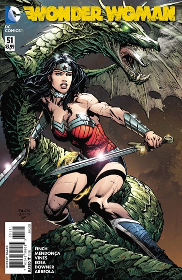 Wonder Woman Cover - 6/1/2016