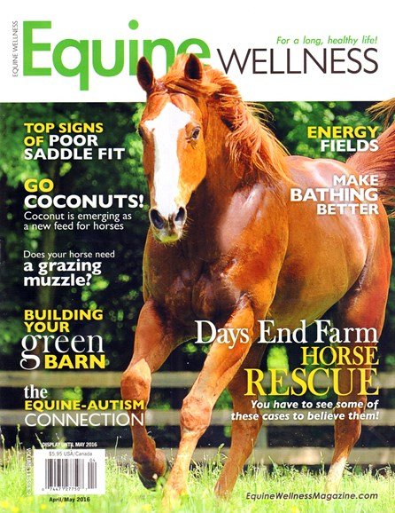 Equine Wellness Cover - 4/1/2016