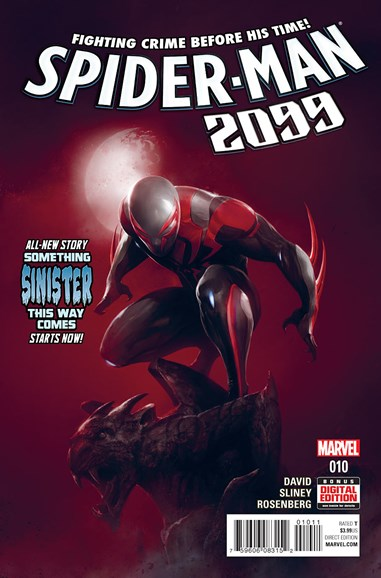 Spider-Man 2099 Cover - 7/1/2016