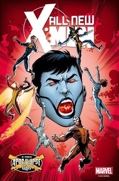X-Men Blue Cover - 7/1/2016