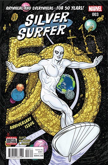 Silver Surfer Cover - 6/1/2016