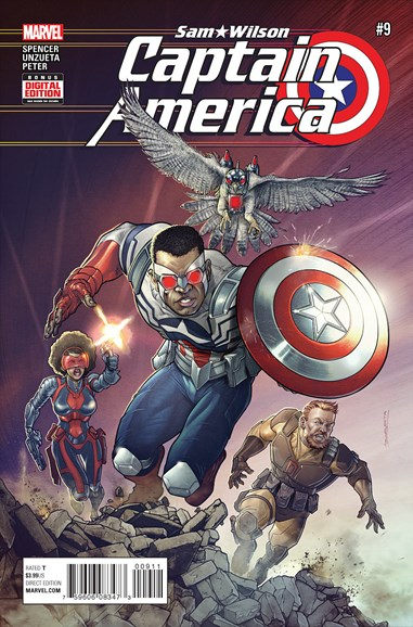 Captain America Cover - 7/1/2016