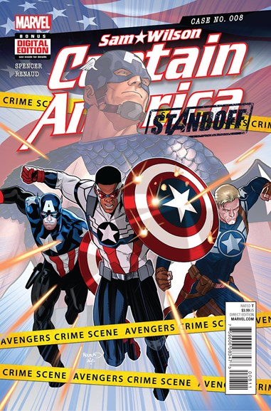 Captain America Cover - 6/1/2016