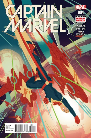Captain Marvel Cover - 6/1/2016