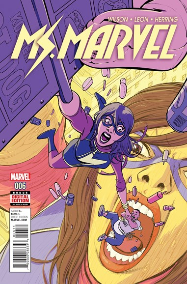 Magnificent Ms. Marvel Cover - 6/1/2016