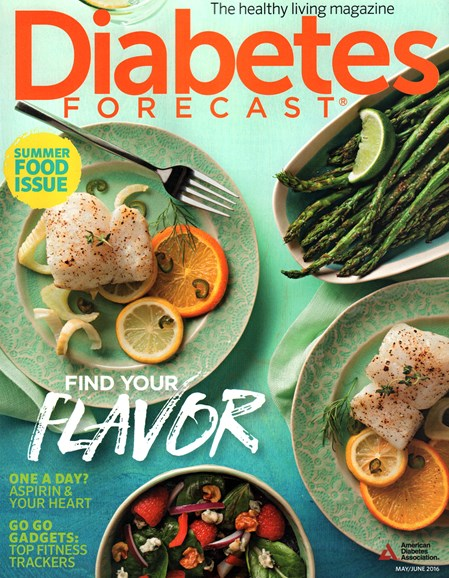 Diabetes Forecast Cover - 5/1/2016