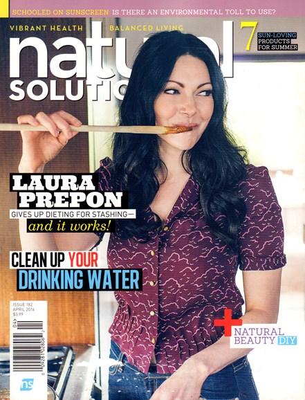 Natural Solutions Cover - 4/1/2016