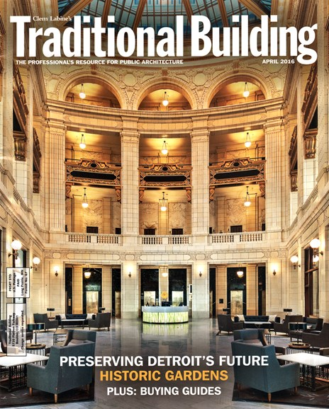 Traditional Building Cover - 4/1/2016