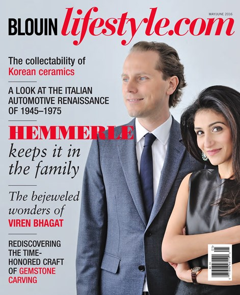 Blouin Lifestyle Cover - 5/1/2016