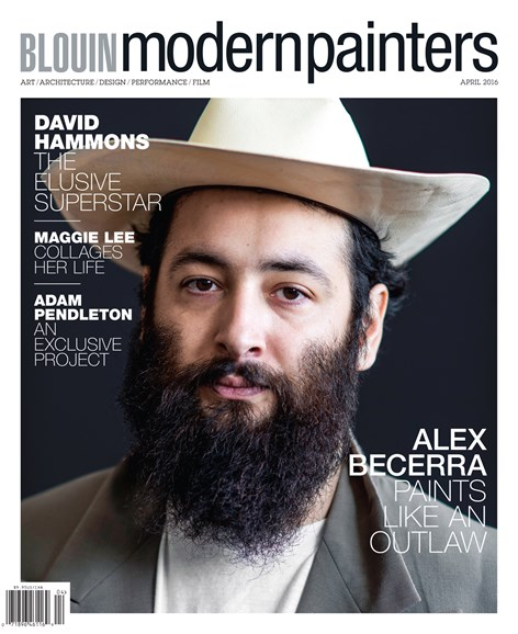 Blouin Modern Painters Cover - 4/1/2016