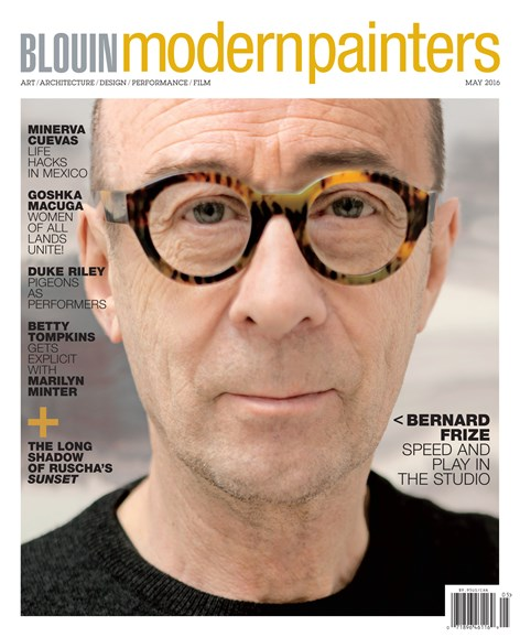 Blouin Modern Painters Cover - 5/1/2016