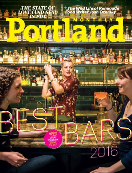 Portland Monthly Cover - 5/1/2016