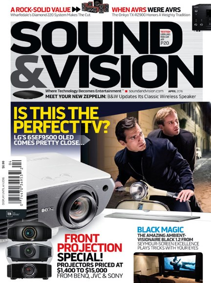 Sound & Vision Cover - 4/1/2016