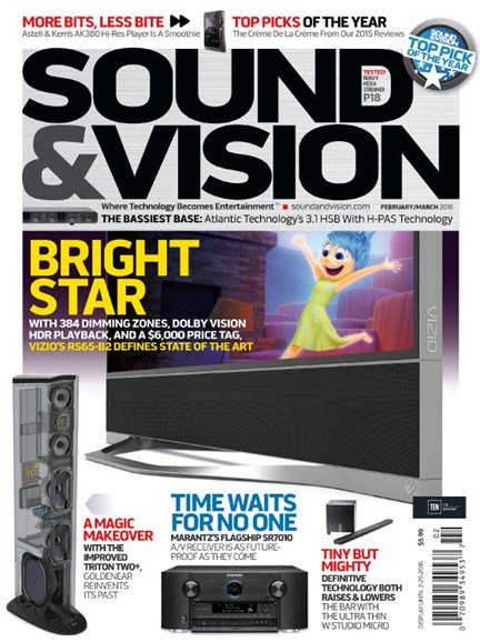 Sound & Vision Cover - 2/1/2016