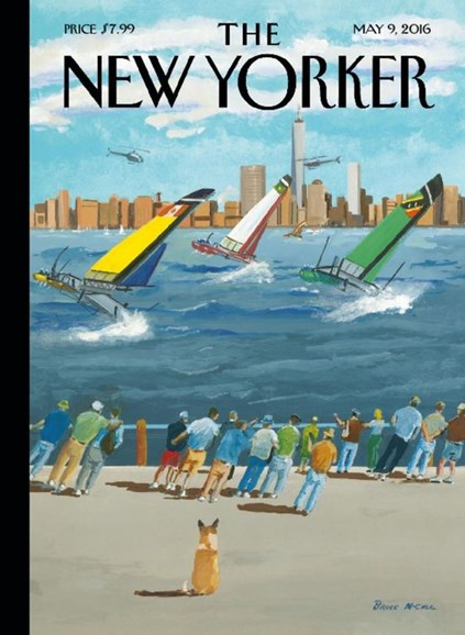 The New Yorker Cover - 5/9/2016