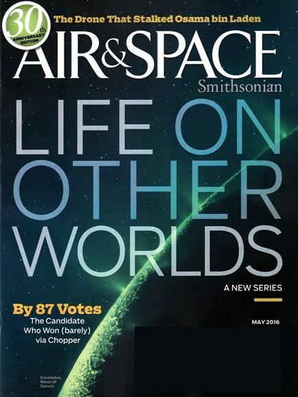 Air & Space Cover - 5/1/2016