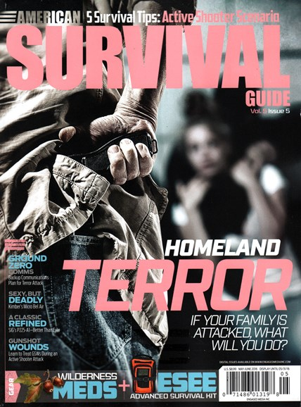American Survival Guide Cover - 5/1/2016