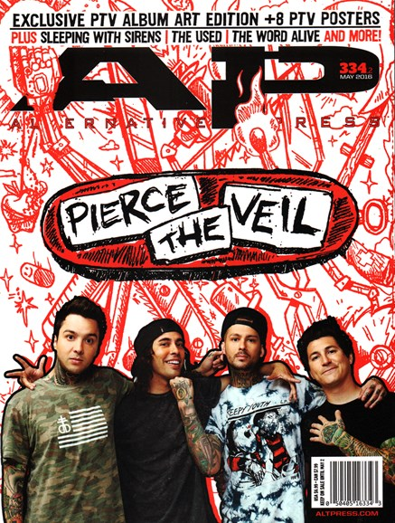 Alternative Press Cover - 5/1/2016