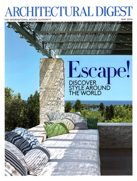 Architectural Digest Cover - 5/1/2016