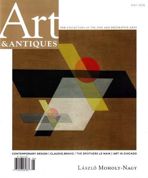 Art & Antiques Cover - 5/1/2016