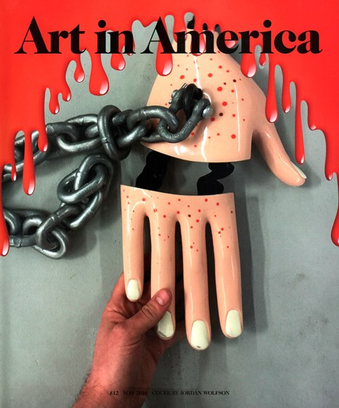 Art In America Cover - 5/1/2016