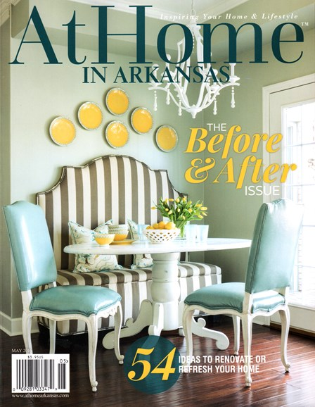At Home In Arkansas Cover - 5/1/2016