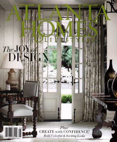 Atlanta Homes & Lifestyles Cover - 5/1/2016