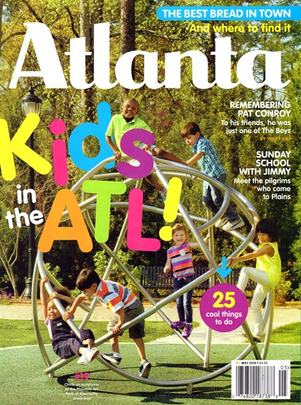 Atlanta Magazine Cover - 5/1/2016