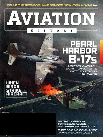 Aviation History Cover - 5/1/2016