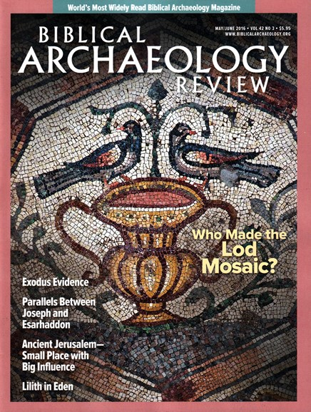 Biblical Archaeology Review Cover - 5/1/2016