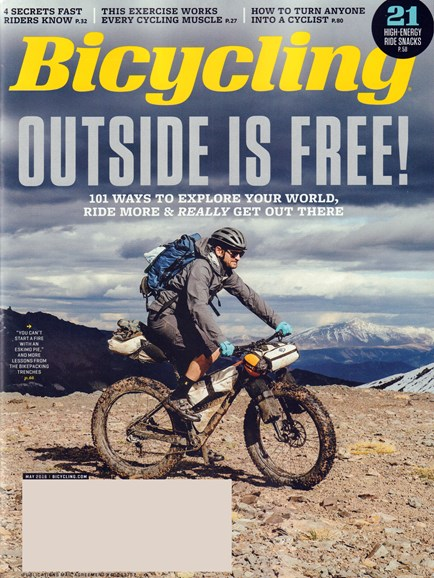 Bicycling Cover - 5/1/2016