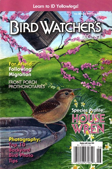 Bird Watcher's Digest Cover - 5/1/2016