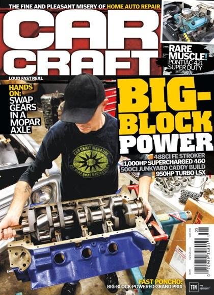 Car Craft Cover - 5/1/2016