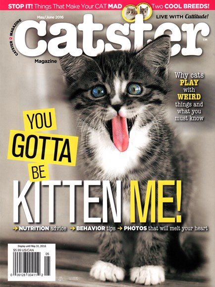Catster Cover - 5/1/2016