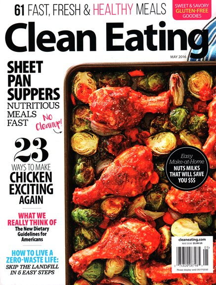 Clean Eating Cover - 5/1/2016