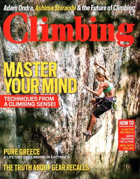 Climbing Magazine Cover - 5/1/2016