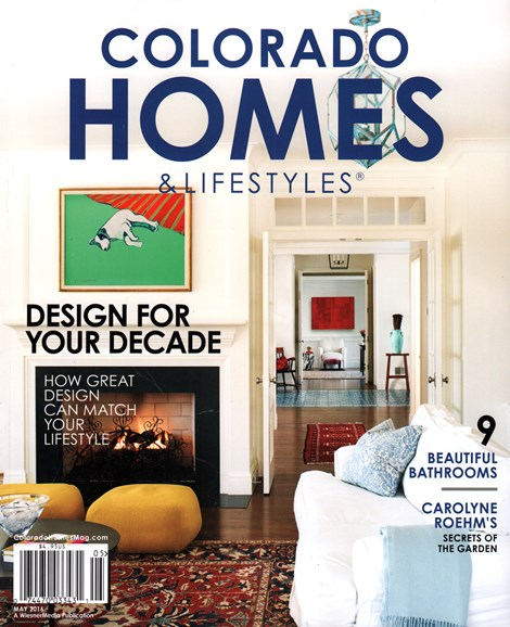 Colorado Homes & Lifestyles Cover - 5/1/2016