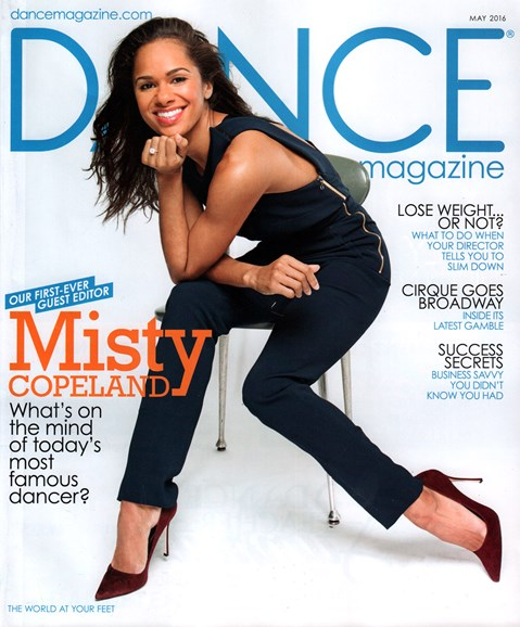 Dance Magazine Cover - 5/1/2016
