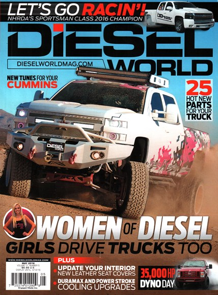 Diesel World Cover - 5/1/2016