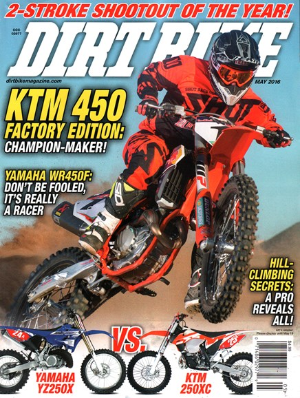 Dirt Bike Cover - 5/1/2016