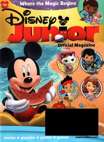 Disney Junior Cover - 5/1/2016