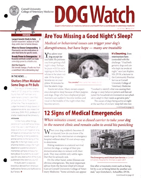 Dogwatch Cover - 5/1/2016
